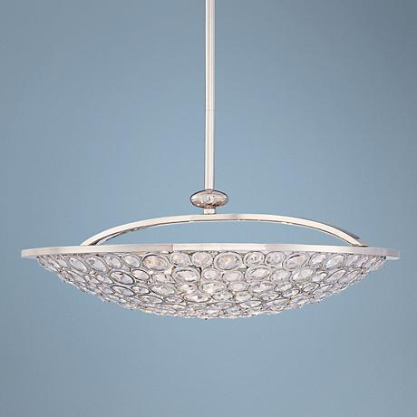 "Metropolitan Magique Collection 28"" Wide Bowl Chandelier"