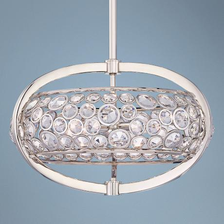 "Metropolitan Magique Collection 20.5"" Wide Drum Pendant"