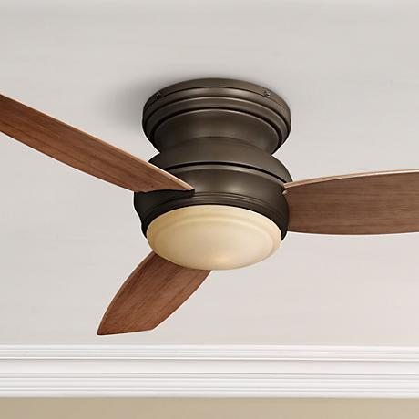 "44"" Minka Traditional Concept Oil-Rubbed Bronze Ceiling Fan"