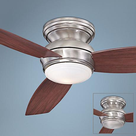 "52"" Minka Aire Concept Outdoor Ceiling Fan in Pewter"