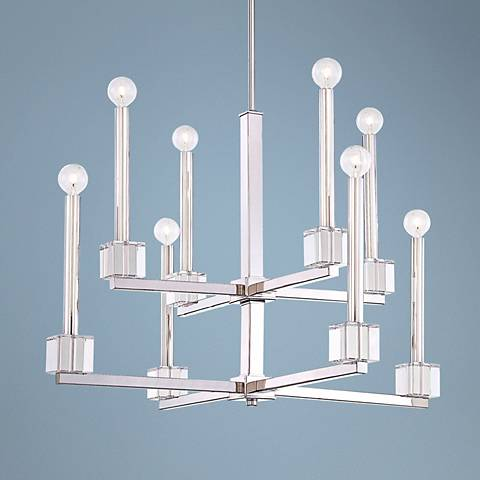 "Metropolitan Chadbourne 2 Tier 29"" Wide Chandelier"