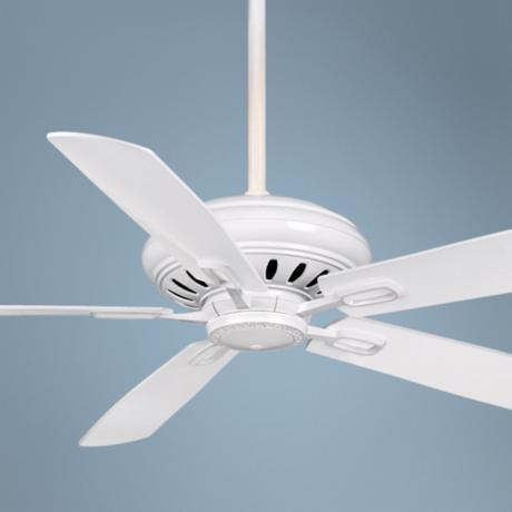 "60"" Casablanca Holliston White Energy Star DC Ceiling Fan"
