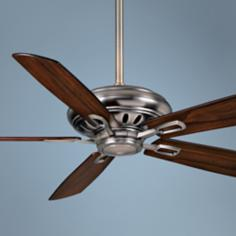 "60"" Casablanca Holliston Nickel Energy Star DC Ceiling Fan"