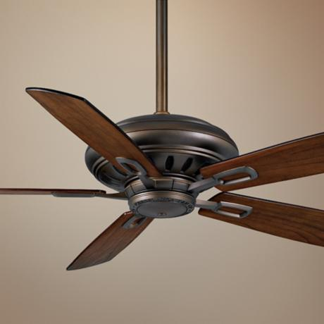 "60"" Casablanca Holliston Cocoa Energy Star DC Ceiling Fan"
