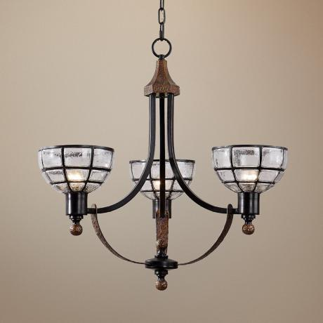 Uttermost Gelati 3-Light Chandelier