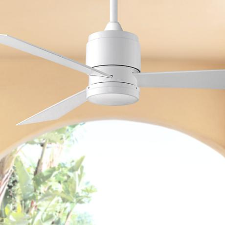 "54"" Fanimation Zonix White Wet Locations Ceiling Fan"