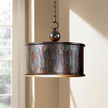 Uttermost Albiano Drum 1-Light Pendant