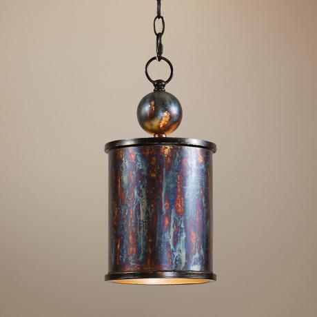 Uttermost Albiano Cylindrical 1-Light Mini Pendant