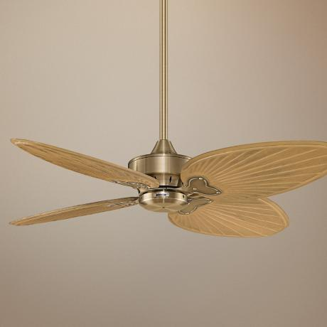 "52"" Fanimation Energy Star Windpointe Brass Ceiling Fan"