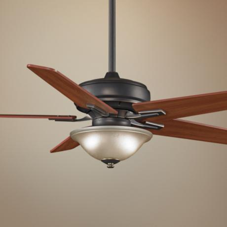"60"" Fanimation Keistone Bronze Accent Ceiling Fan"