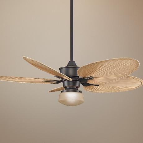 "52"" Fanimation Islander Bronze Ceiling Fan with Light Kit"