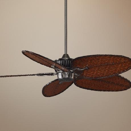 "52"" Fanimation Louvre™ Pewter Ceiling Fan"