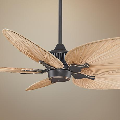 "52"" Fanimation Louvre™ Bronze Accent Ceiling Fan"