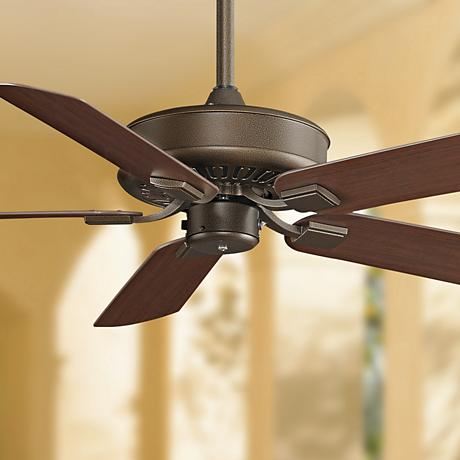 "50"" Fanimation Edgewood™ Aged Bronze Wet  Ceiling Fan"