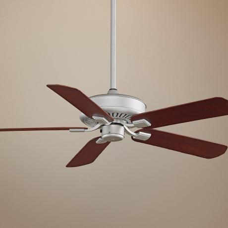"50"" Fanimation Edgewood™ Satin Nickel Wet Ceiling Fan"