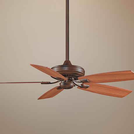 "52"" Fanimation Edgewood™ Tortoise Shell Ceiling Fan"