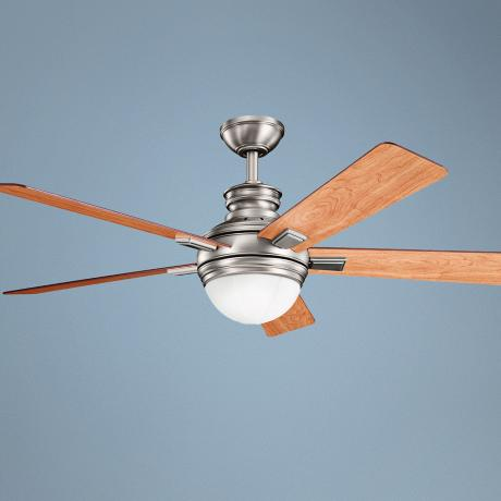"52"" Kichler Brookfield Antique Pewter Ceiling Fan"