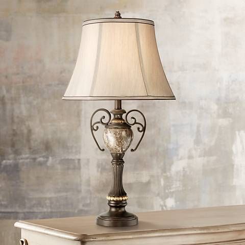 Kathy Ireland Belvedere Manor Bronze Table Lamp