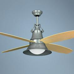 "52"" Craftmade Union Galvanized Wet Location Ceiling Fan"