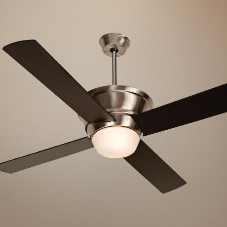 "52""  Craftmade Kira Stainless Steel Ceiling Fan"
