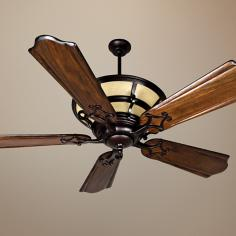 "54"" Craftmade Hathaway Oiled Bronze Ceiling Fan"