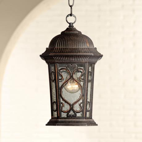 "Veranda Collection 14 1/2"" High Outdoor Hanging Light"