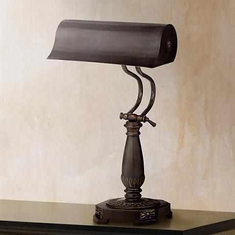 Bronze Finish Piano Desk Lamp