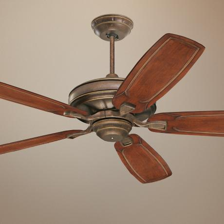 "60"" Emerson  Carrera Grande Gilded Bronze Ceiling Fan"