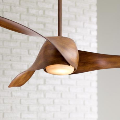 "58"" Artemis Distressed Koa Finish Ceiling Fan"