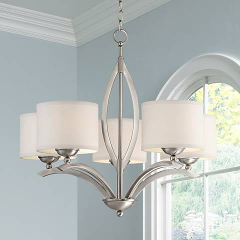 "Ariano 27 1/4""-W 5-Light Chandelier by Possini Euro Design"
