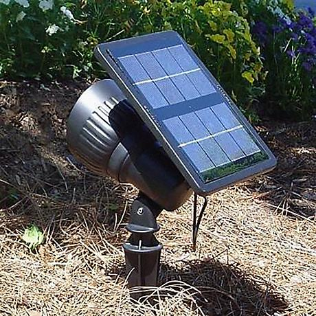 Progressive Solar Powered LED Spotlight or Floodlight
