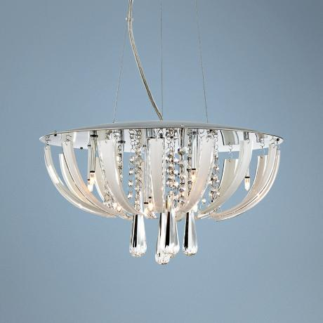 Luxe Suite Crystal Pendant Light