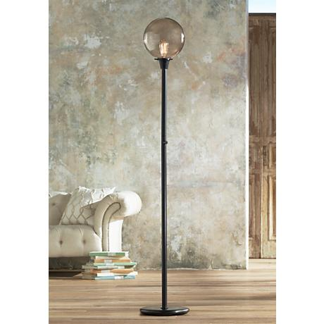 Rico Espinet Buster Globe Bronze Floor Lamp by Robert Abbey