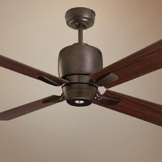 "46"" Emerson Veloce Oil-Rubbed Bronze Ceiling Fan"