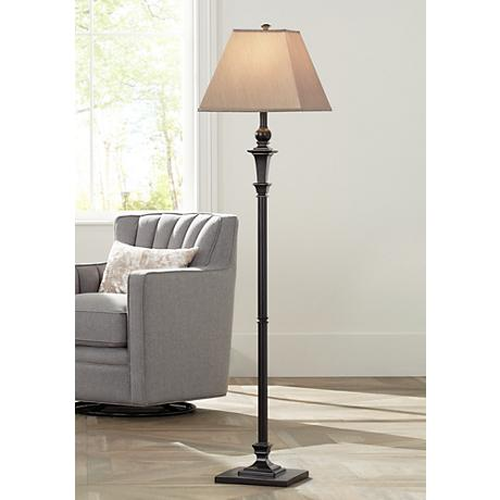Madison Italian Bronze Floor Lamp