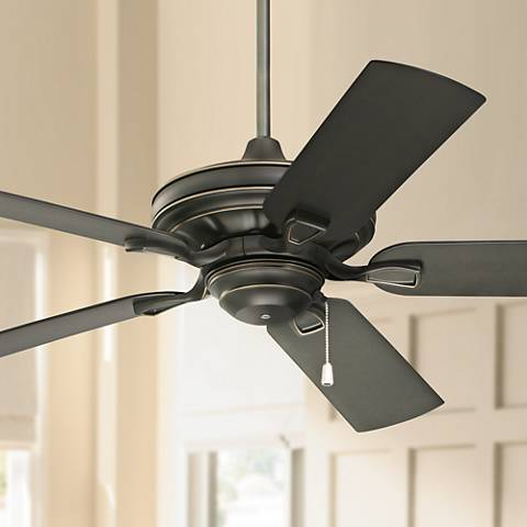 "52"" Emerson Carrera Veranda Golden Espresso Ceiling Fan"