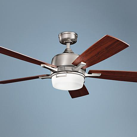 "52"" Kichler Leeds Pewter ENERGY STAR® Ceiling Fan"