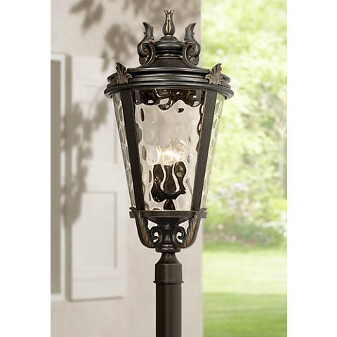 "Casa Marseille™ Bronze 33 1/2"" High Outdoor Post Light"