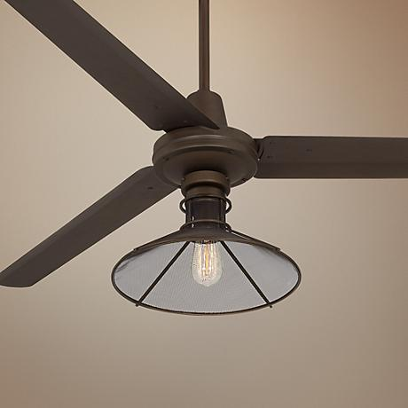"60"" Turbina™ Oil-Rubbed Bronze Ceiling Fan"