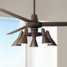 "60"" Casa Vieja™ Turbina Oil-Rubbed Bronze Ceiling Fan"