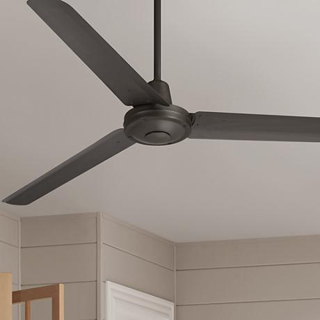 "60"" Casa Vieja Turbina™ Oil-Rubbed Bronze Metal Ceiling Fan"