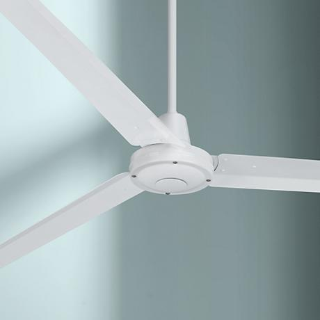 "60"" Turbina™ White Ceiling Fan"
