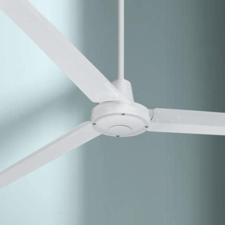 "60"" Turbina White Ceiling Fan"