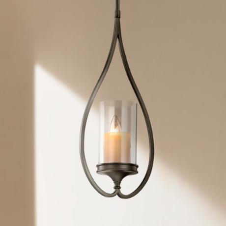 "Kichler Lara Shadow Bronze 8 3/4"" Wide Mini Pendant Light"