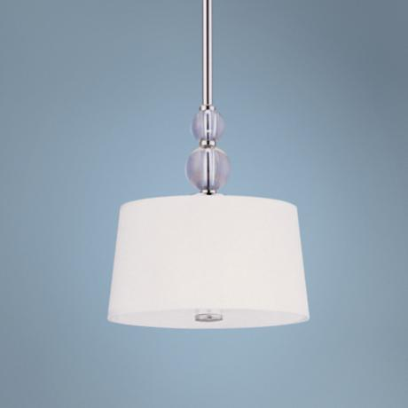 Maxim Rondo Nickel Finish Mini Pendant Light