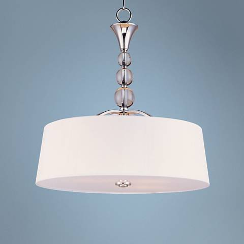 Maxim Rondo Nickel Finish Foyer Pendant Light