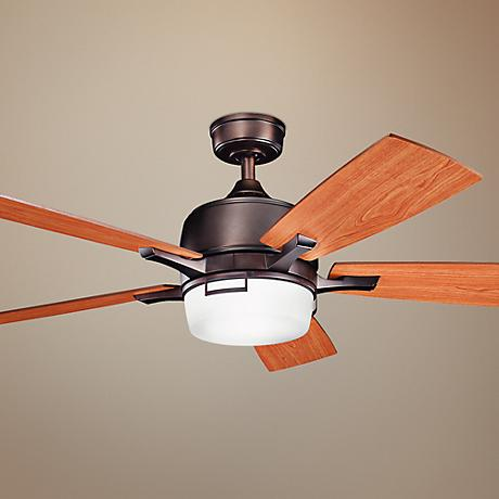"52"" Kichler Leeds Oiled Bronze ENERGY STAR® Ceiling Fan"