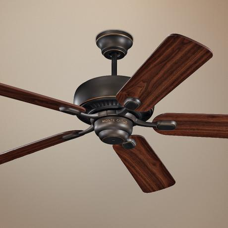 "52"" Monte Carlo Centro Roman Bronze ENERGY STAR Ceiling Fan"