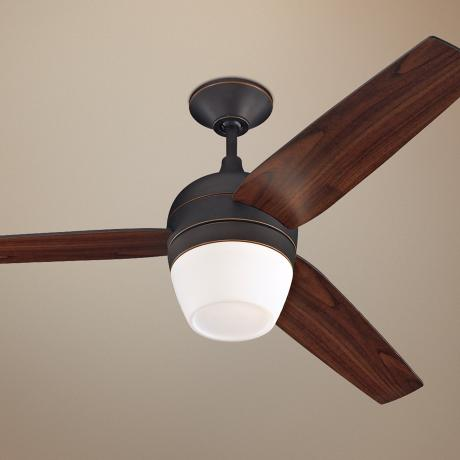 "52"" Monte Carlo Merlot Roman Ceiling Fan with Light Kit"