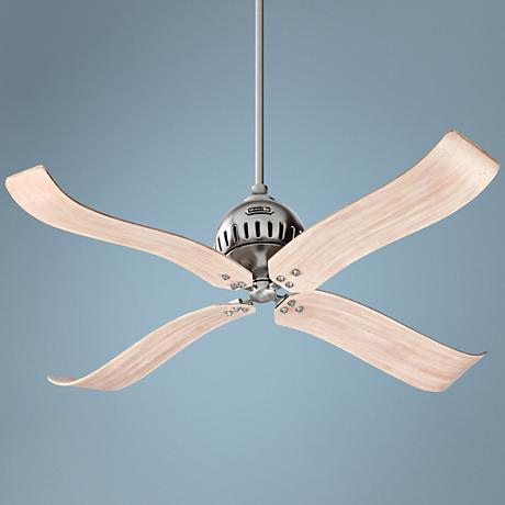 "52""  Quorum Jubilee Satin Nickel Ceiling Fan"